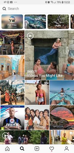 ricerca globale instagram